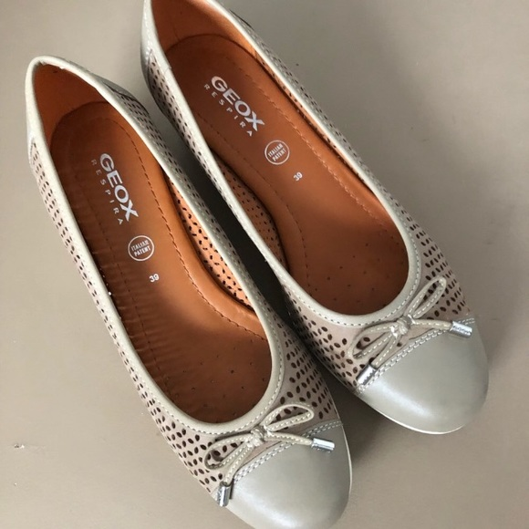 Geox Wedges Genuine Perforated Leather
